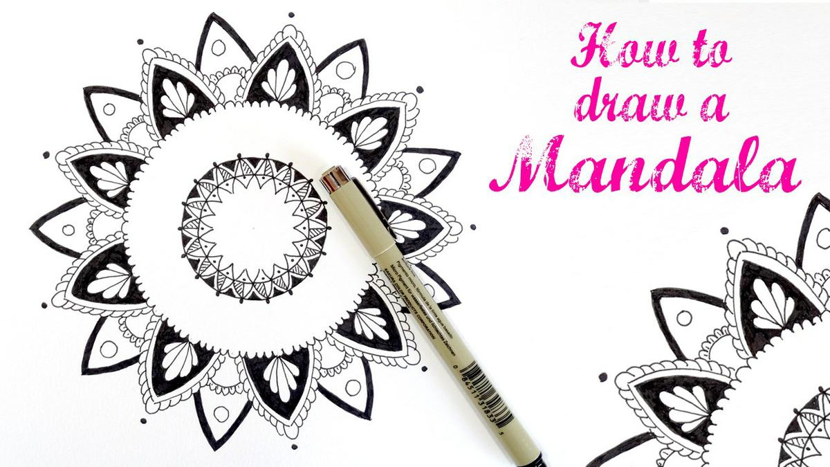 mandala speed draw