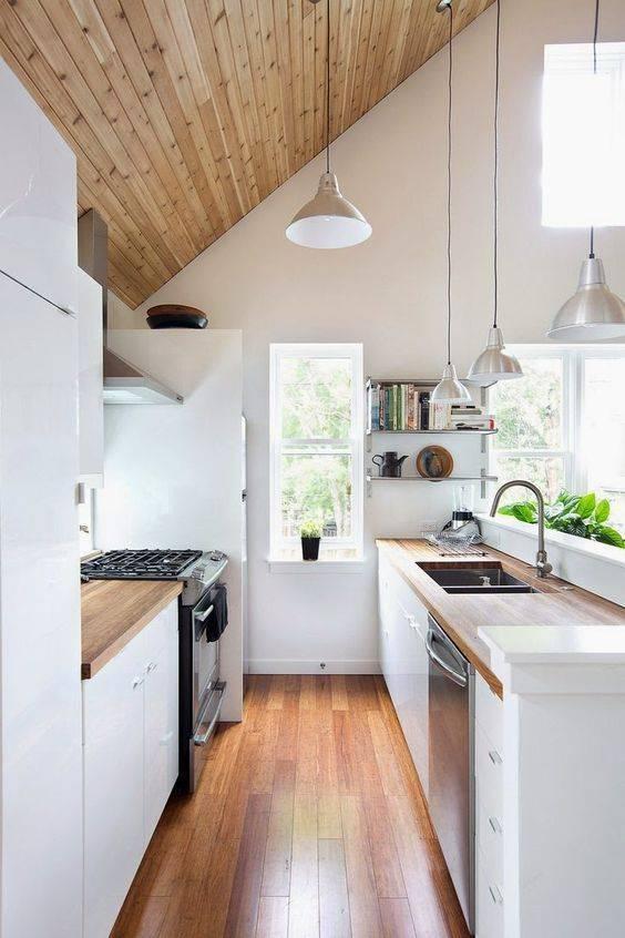 как да се украсяват една проста кухня