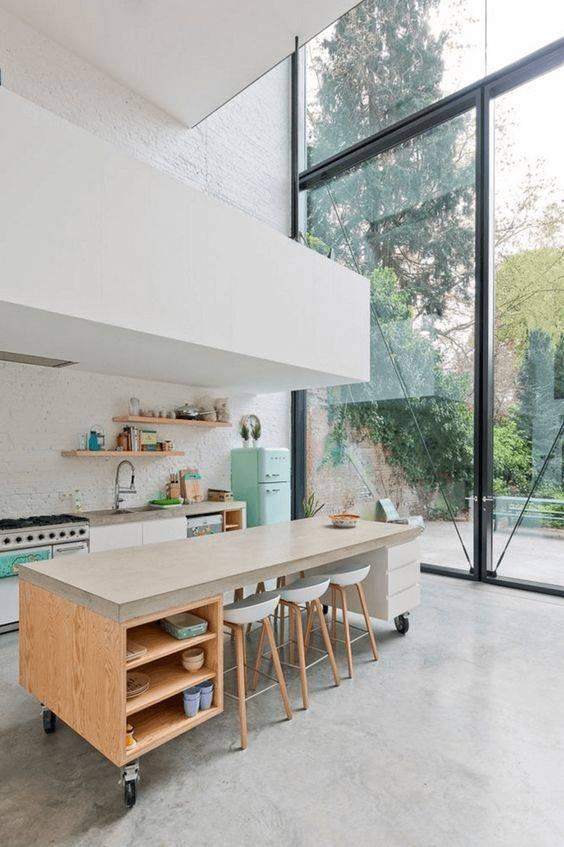 украса проста кухня у дома