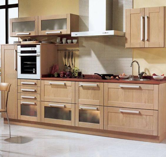 прост кухненски мебели