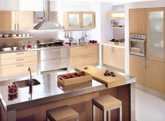 модерна кухня интериор проста