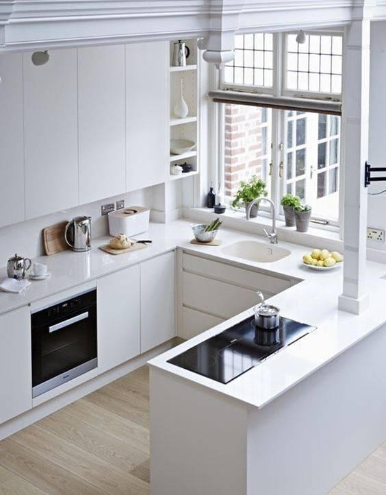 прост дизайн за кухни
