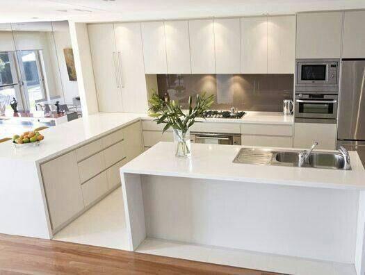 прости декорация интегрирани кухни