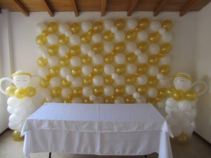 decoracion con globos para primera comunion (4) (FILEminimizer)