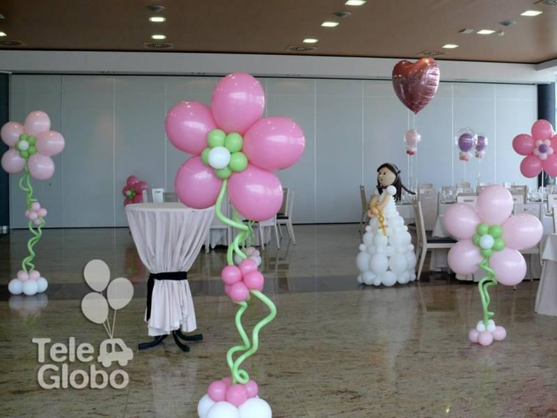 decoracion con globos para primera comunion (1) (FILEminimizer)