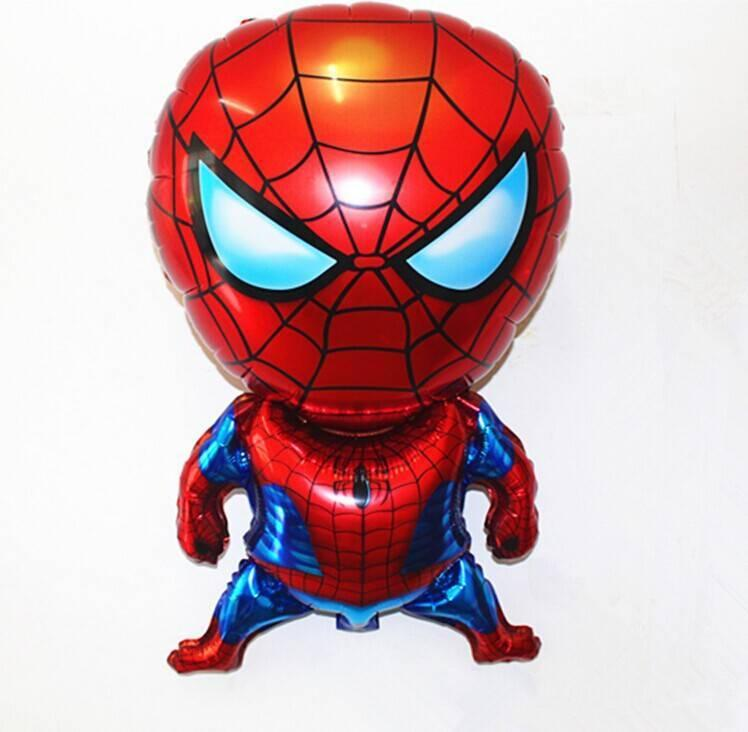 decoracion con globos de spiderman (1) (FILEminimizer)