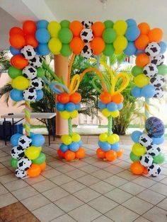 decoracion con globos de toy story (1) (FILEminimizer)
