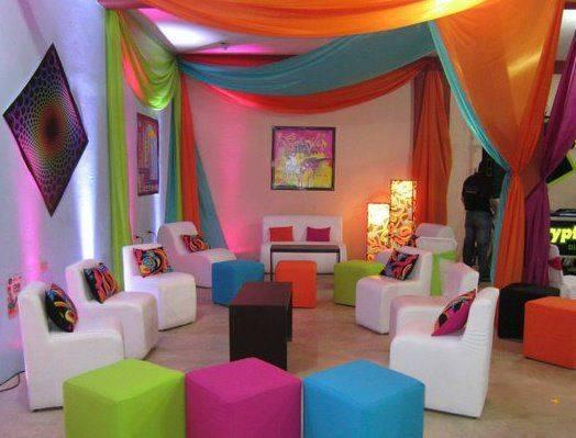 decoracion con telas de colores (3)