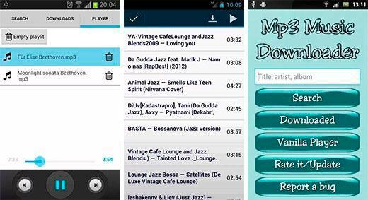 Mp3 Music Downloader para Android