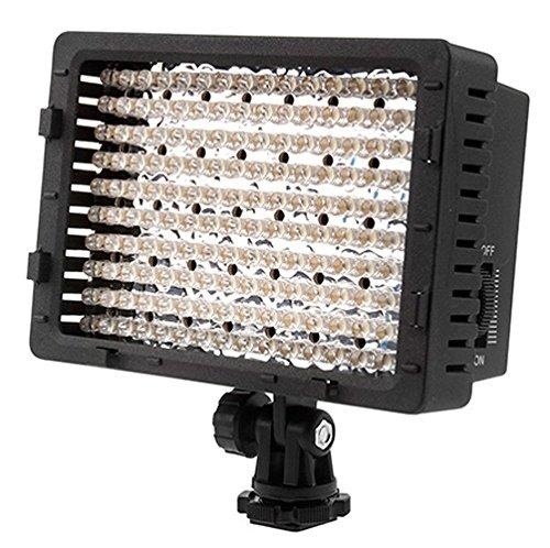 NEEWER ® CN-160 - Panel de luz LED regulable de 160 piezas para cámara de vídeo y digital SLR Canon...