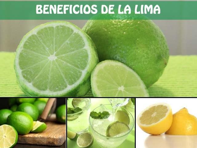 beneficios de la lima