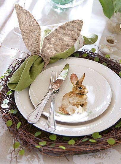 Tablescapes ~ Easter: