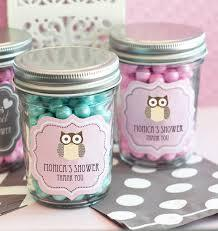 recuerds con dulces para baby shower
