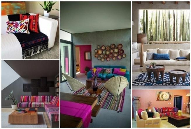 Decoraci n estilo mexicano 50 ideas para decorar tu - Decoracion colonial moderno ...