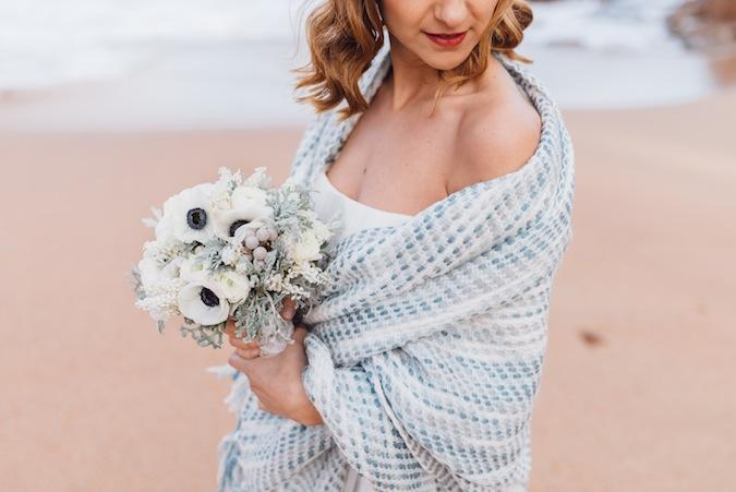 Un elopement en la playa
