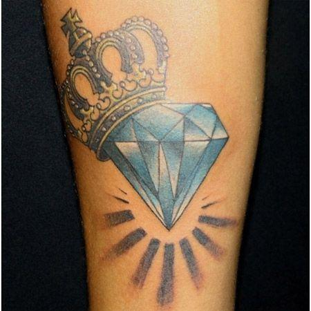 diamante coronado tatoo