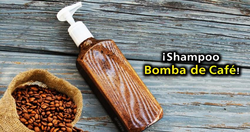 Shampoo Bomba de Cafe beneficios
