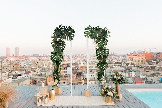 Urban jungle elopement