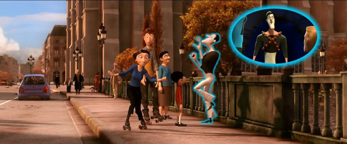 los increibles en ratatouille