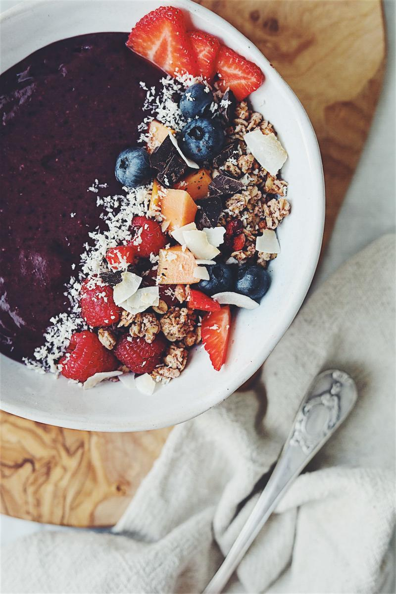 Smoothie bowl de maqui berry