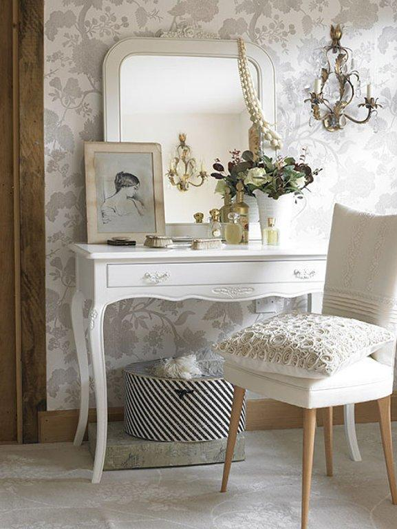 Tocador Shabby chic. Imagen referencial Pinterest