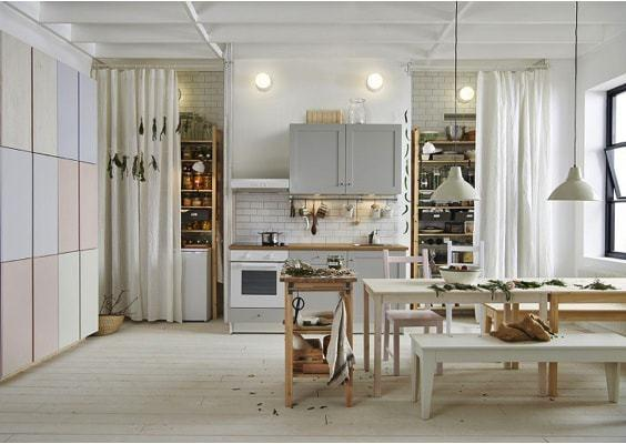 ivar furniture - perfect for the kitchen