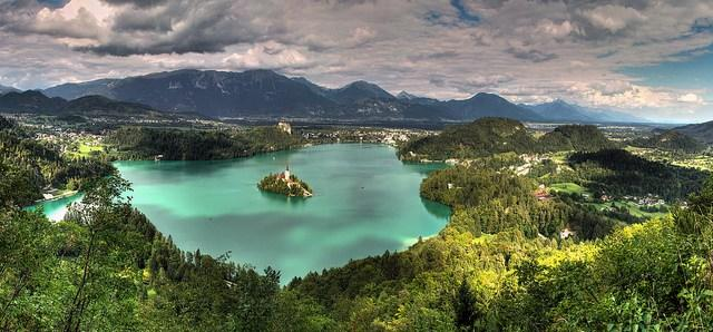 Panorámica Bled