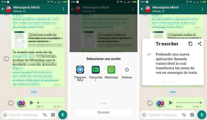 imagen Transcriber for WhatsApp para Android