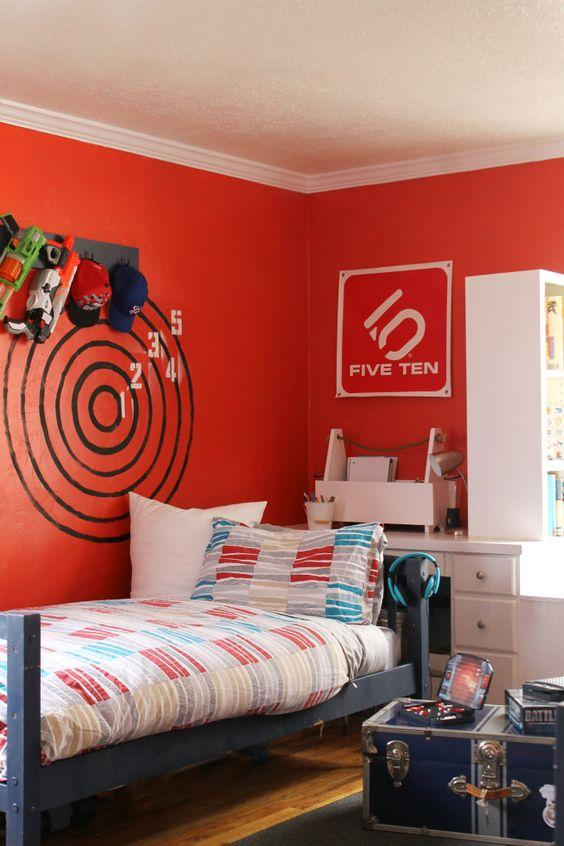 Últimas_tendencias_de_color_para_paredes_infantiles_decoración_cómo pintar paredes-rojo-15