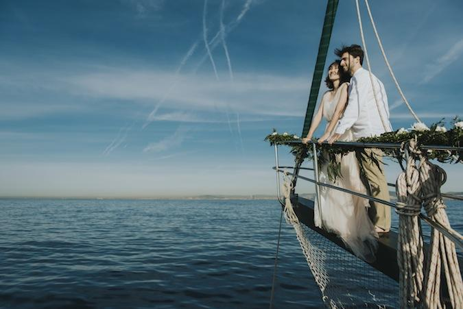 Into the sea elopement