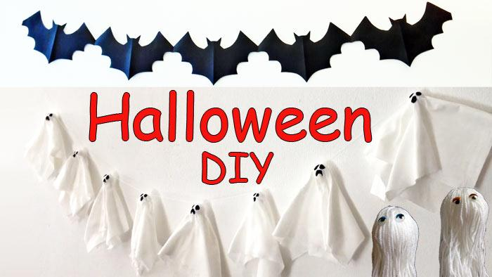Halloween - manualidades para decorar
