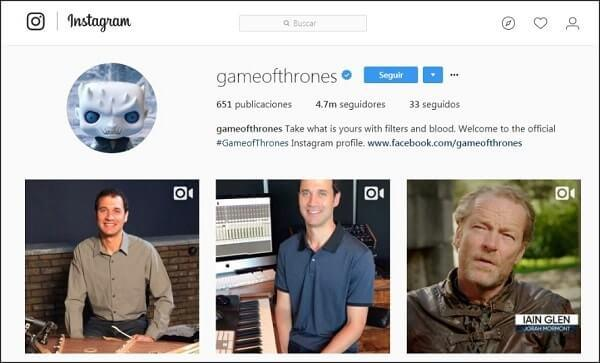 instagram game of thrones