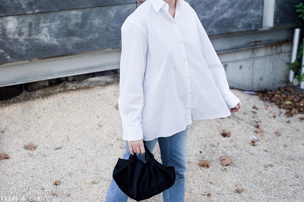 Trini | The Row shirt Acne Studios jeans