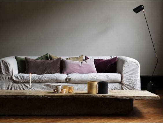 Velvet cushions by Olsson and Jensen