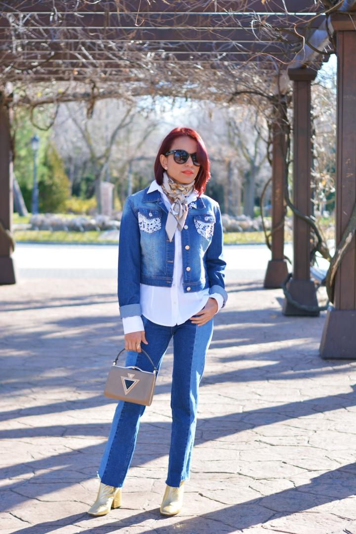 Look con denim