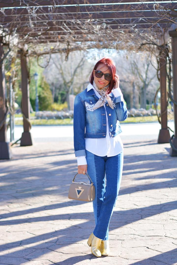 Outfit con denim