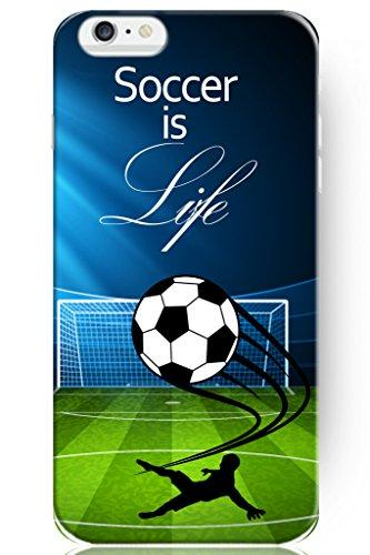iPhone 6 Case, SPRAWL [Non-Slip] [Perfect-Fit] iPhone 6 (4.7) Case SlimNEW [Fit Series] [Thin Fit] Non Slip Surface with Excellent Grip Hard Case - Slim Case for iPhone 6 (4.7) (2014) -- Soccer is Life