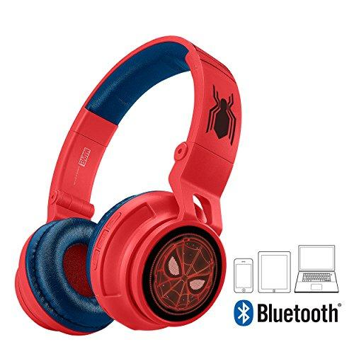 Marvel Spider-Man Homecoming eKids Bluetooth Headphones with Kid-Friendly Safe Volume Limits