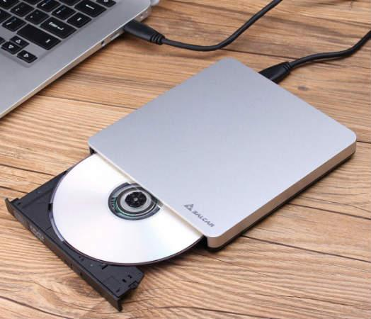 lector de DVD y CD ROM externo para ordenador fijo o portatil con USB 3.0 compatible con WIndows Mac OS