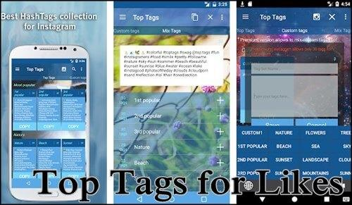 Top Tags for Likes. Mejores hashtags
