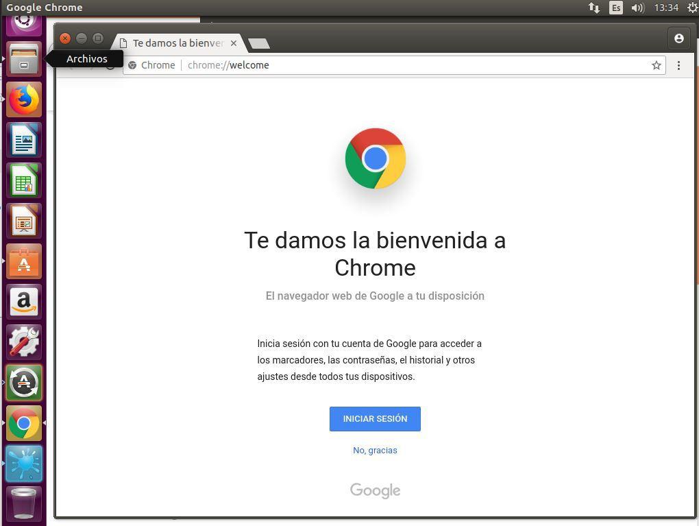 INSTALAR GOOGLE CHROME UBUNTU 16.04