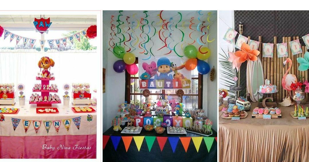 5 ideas para una fiesta infantil