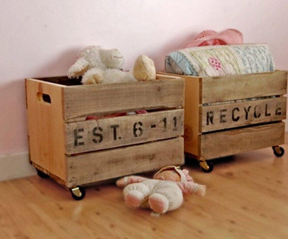 Ideas para decorar con cajas de madera, ¡no os lo perdáis!