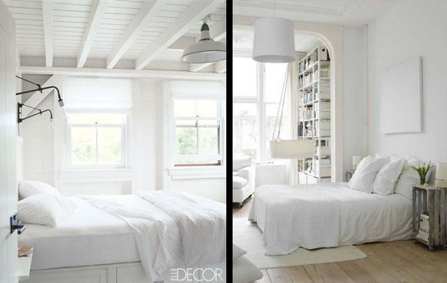 30 propuestas de dormitorios blancos