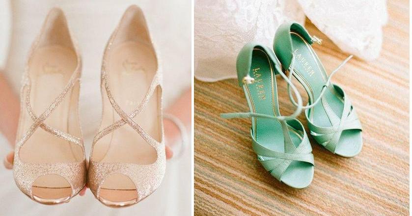 zapatos de colores para novias | facilisimo