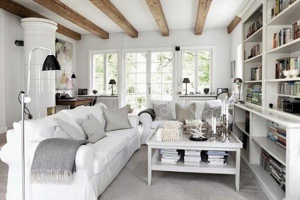 Vivir en una casa de campo con mucho estilo