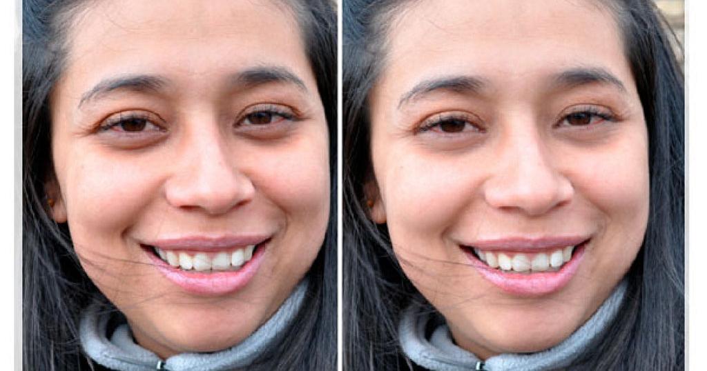 Cómo corregir fácilmente las ojeras en tus fotos