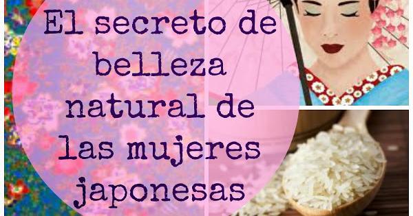 El secreto de belleza natural de las mujeres japonesas