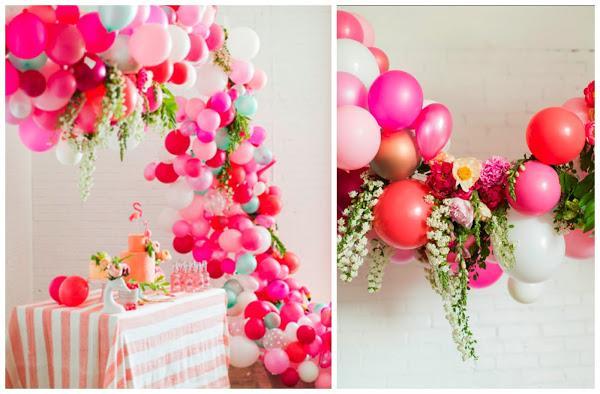 Decoración de fiestas con globos, ¡una idea genial!