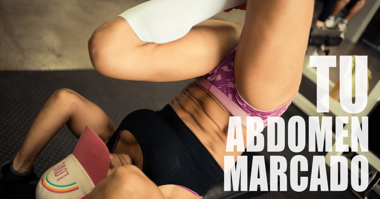 Marca tu abdomen con 4 ejercicios